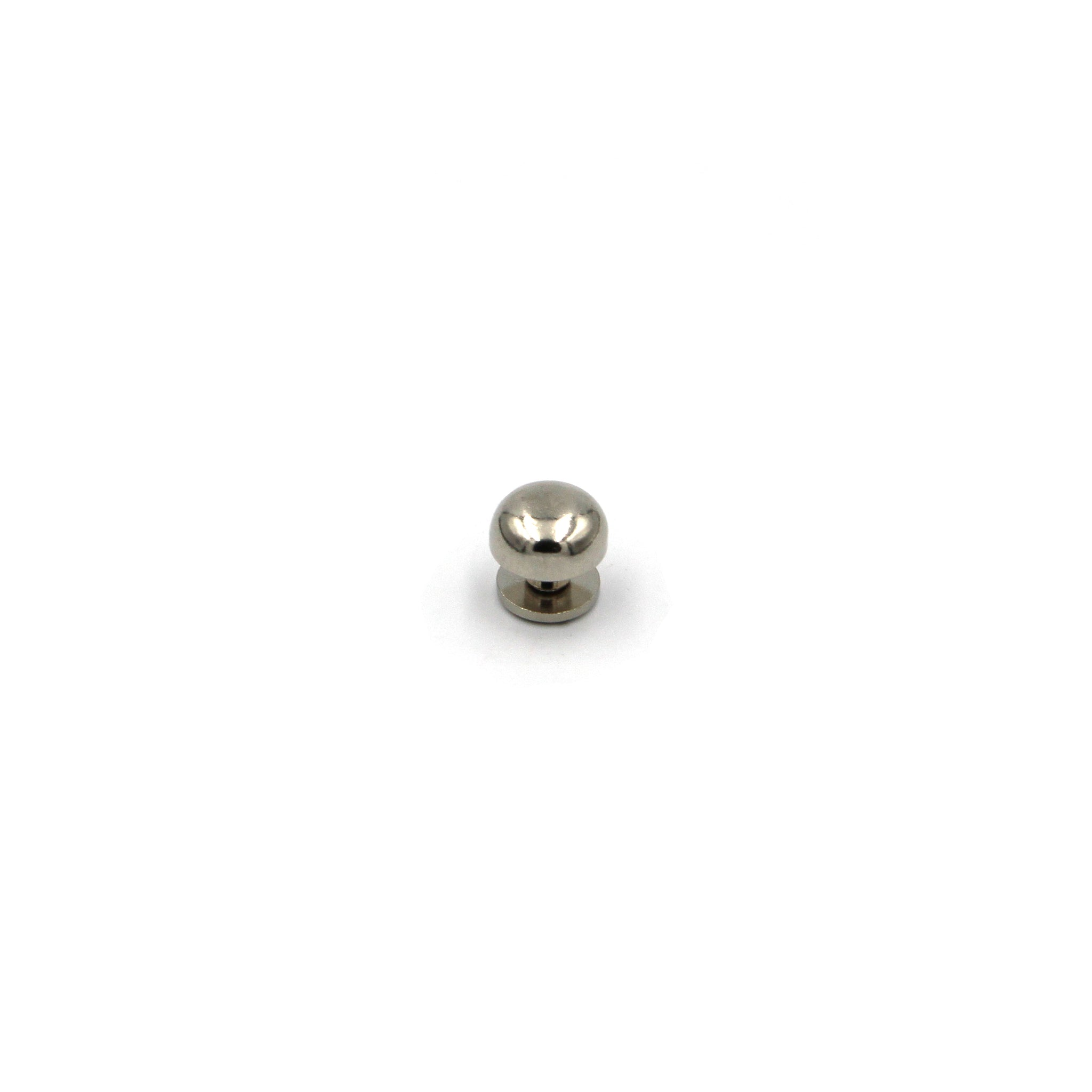 Silver Mushroom Studs Rivet 10 mm - Metal Field Shop