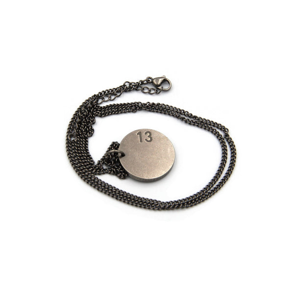 "Cool Necklaces for Guys ""A MAINIFEST OF DISTINCTION"" Mens Neck Chain - Metal Field"