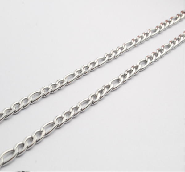 Figaro Chain 6.0mm Jewelry Making DIY - Metal Field