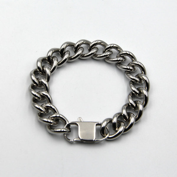 Men Chain Bracelet Metal Popular Stylish Accessories Designer Cool Custom - Metal Field