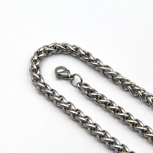 Wheat Necklace 316 stainless steel chain - Metal Field