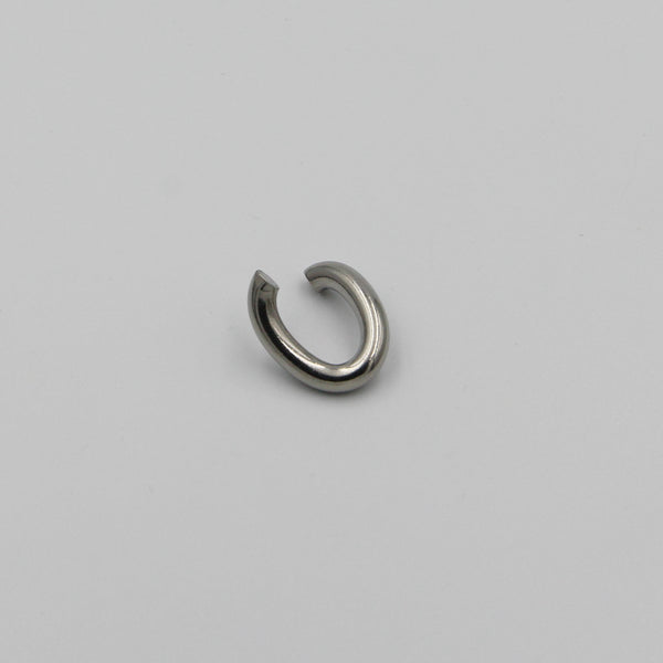 Opened Oval Shape Jump Ring - Metal Field