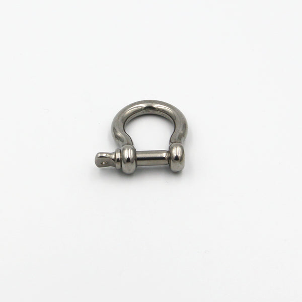 Stainless Shackle U Clasp With Screw Rod Leather Craft Connect Tools Leatherwork Hardware - Metal Field