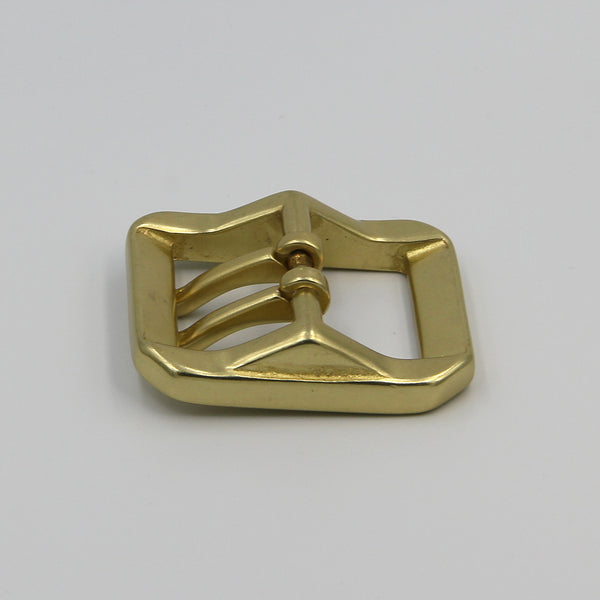 Strong Military Double Pin Buckle Heavy Brass Buckle For Handmade - Metal Field