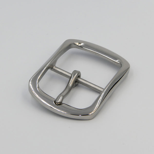 Stainless Steel Buckle For Men Glass Finish - Metal Field