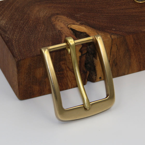 Solid Brass Buckle - Metal Field Shop