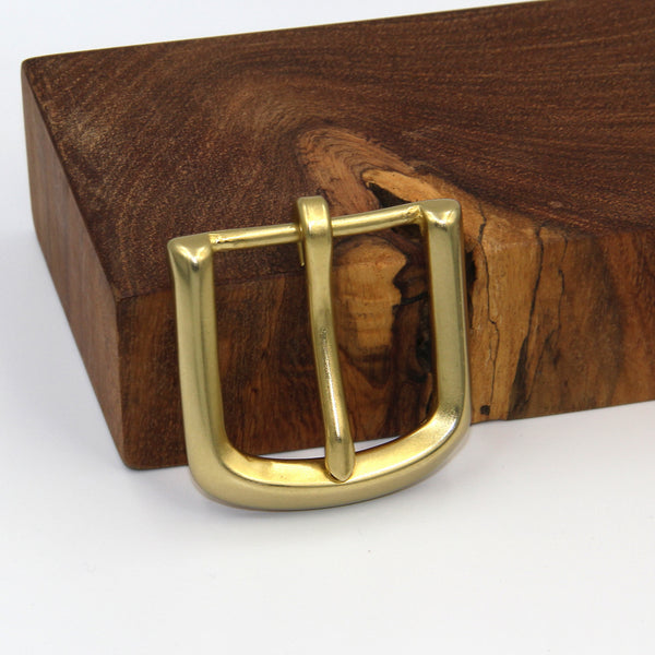 Brass Belt Buckle - Metal Field