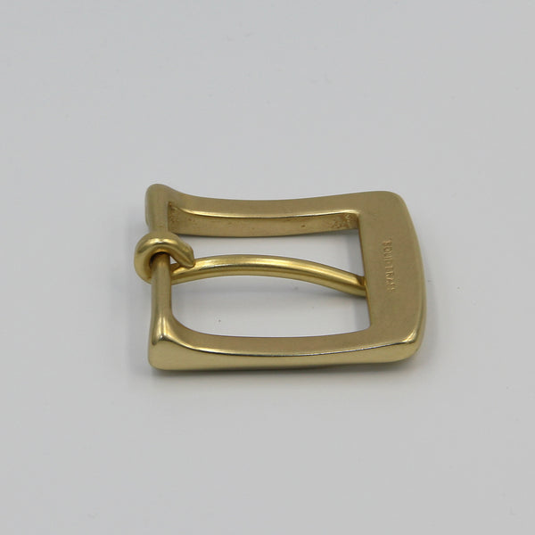 Retro Brass Buckle, Van-Tanned Belts - Metal Field Shop