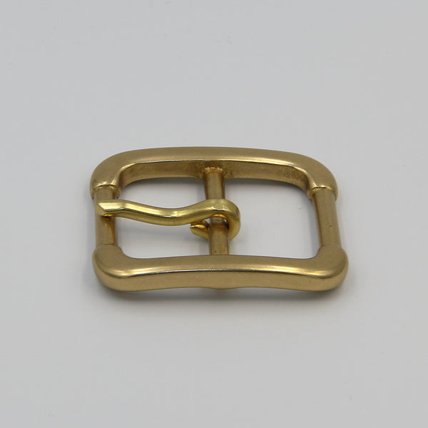 Heavy Brass Buckle 40mm - Metal Field