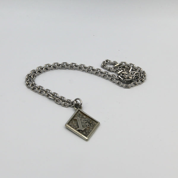 Pendant Necklace Cool Necklaces for Guys Men&Women - Metal Field