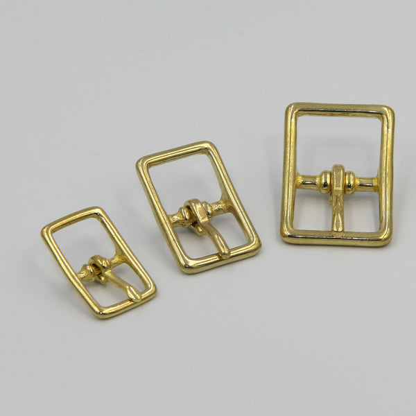 Brass Pin Buckle, Purse Buckle 17mm - Metal Field