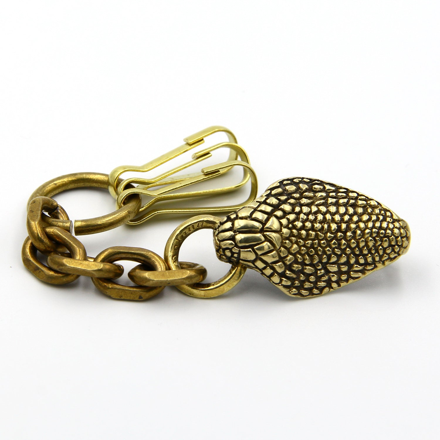Handcrafted King Cobra Keychain Manager Exclusive Design - Metal Field