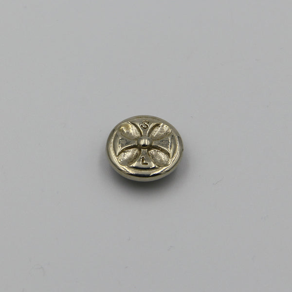 Conchos Buddhist Rune Design India Ancient Symbol Studs For Leather Purse Decoration - Metal Field