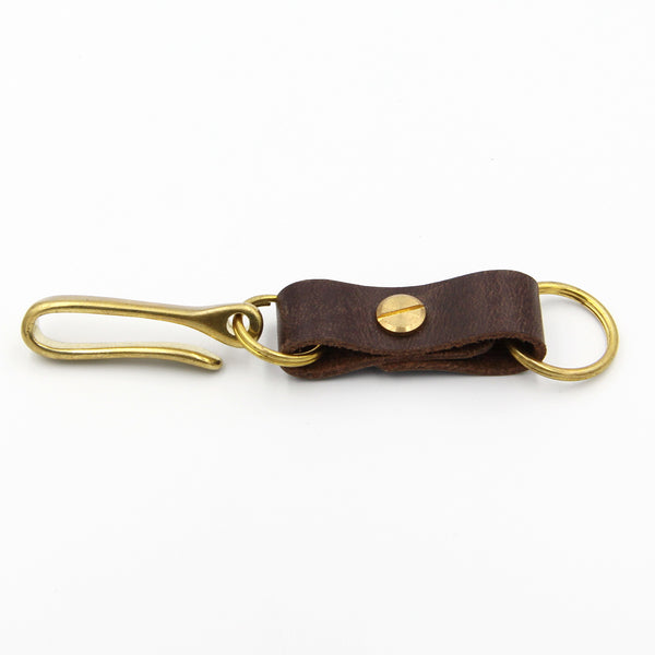 Keychain Brass Key Hook - Metal Field