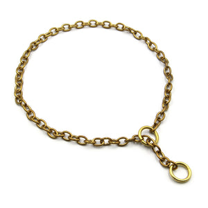 Dog Chain Collars - Metal Field