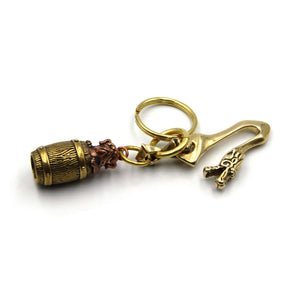 Dragon Key Chain Manager - Metal Field