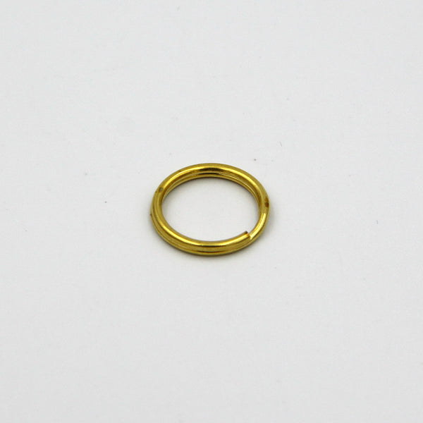 Split Ring Brass 20mm - Metal Field