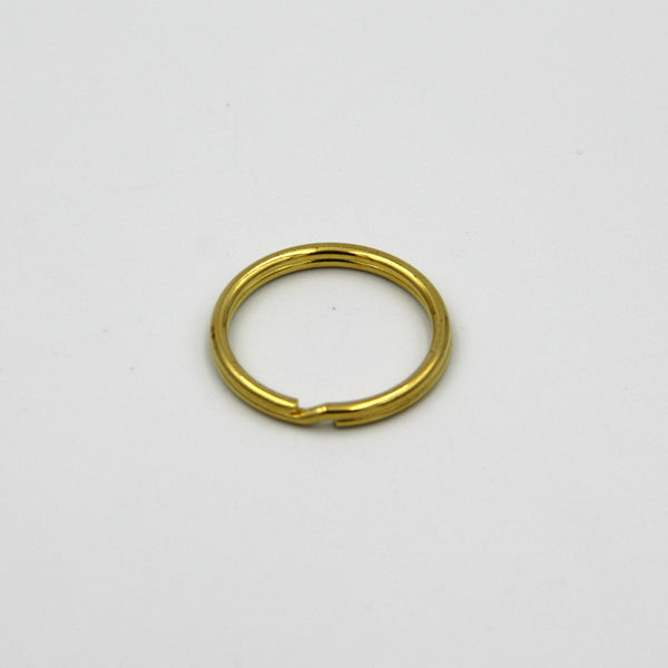 Split Ring Brass 30mm - Metal Field