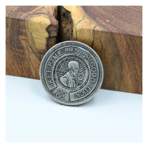 Hobo Skull Ringing Coin Gifts, Coin Collections - Metal Field