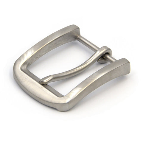Men's casual buckle stainless steel matte - Metal Field