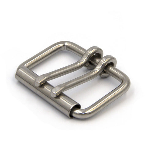 Double Pin Roller Belt Buckle-40 mm - Metal Field Shop