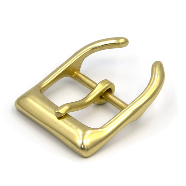 Brass Belt Buckle Solid Brass - Metal Field Shop