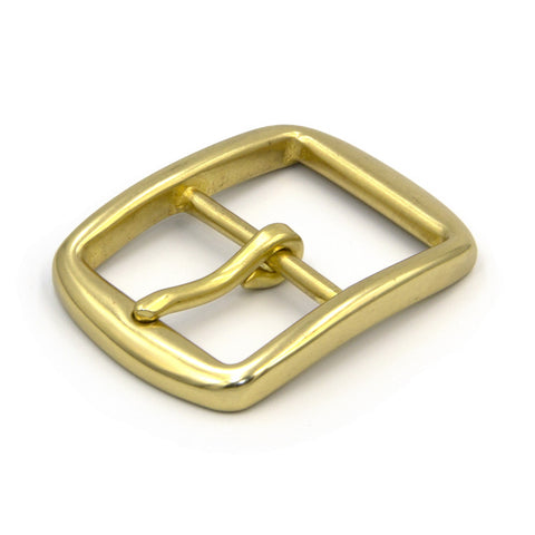 40mm Solid Brass Pin Buckle Western Cowboy - Metal Field Shop