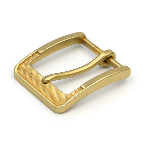 Vintage Classic Belt Buckle Brass - Metal Field Shop