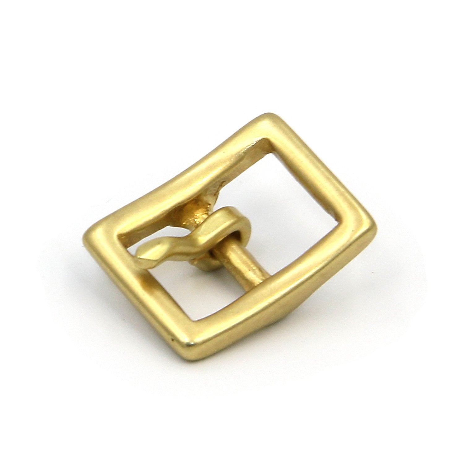 Pin Buckle Strap Brass Gold Yellow Belt 15mm - Metal Field Shop