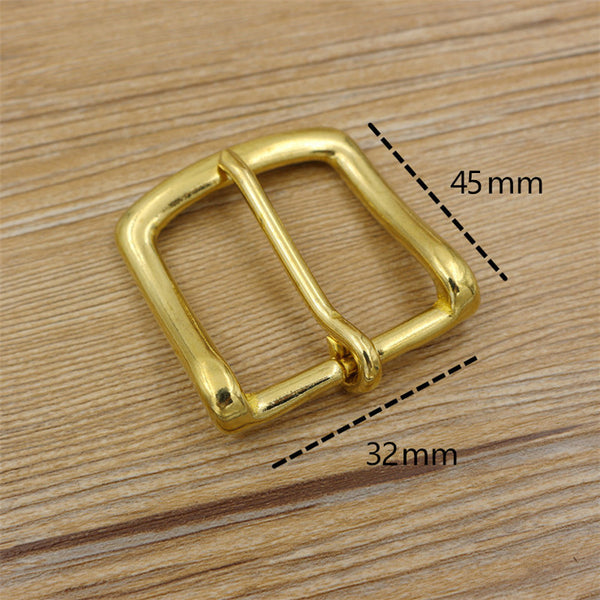 Women Belt Buckle 32mm Brass - Metal Field Shop