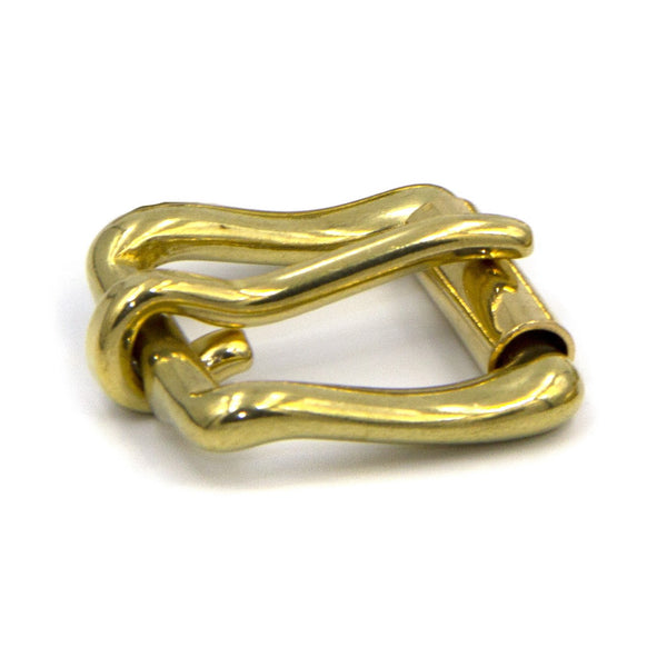 Pin Roller Buckle,Solid Brass 20 mm - Metal Field