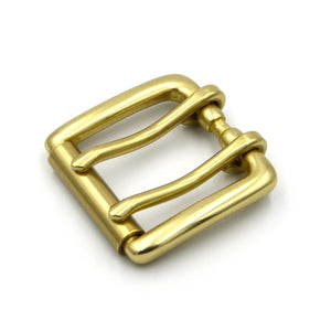 Double Rod Roller Buckle,Solid Brass - Metal Field