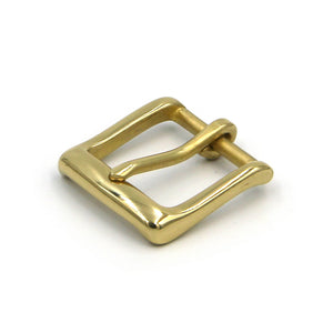 Women Buckle Gold Polished Fashion Buckle 30mm - Metal Field Shop