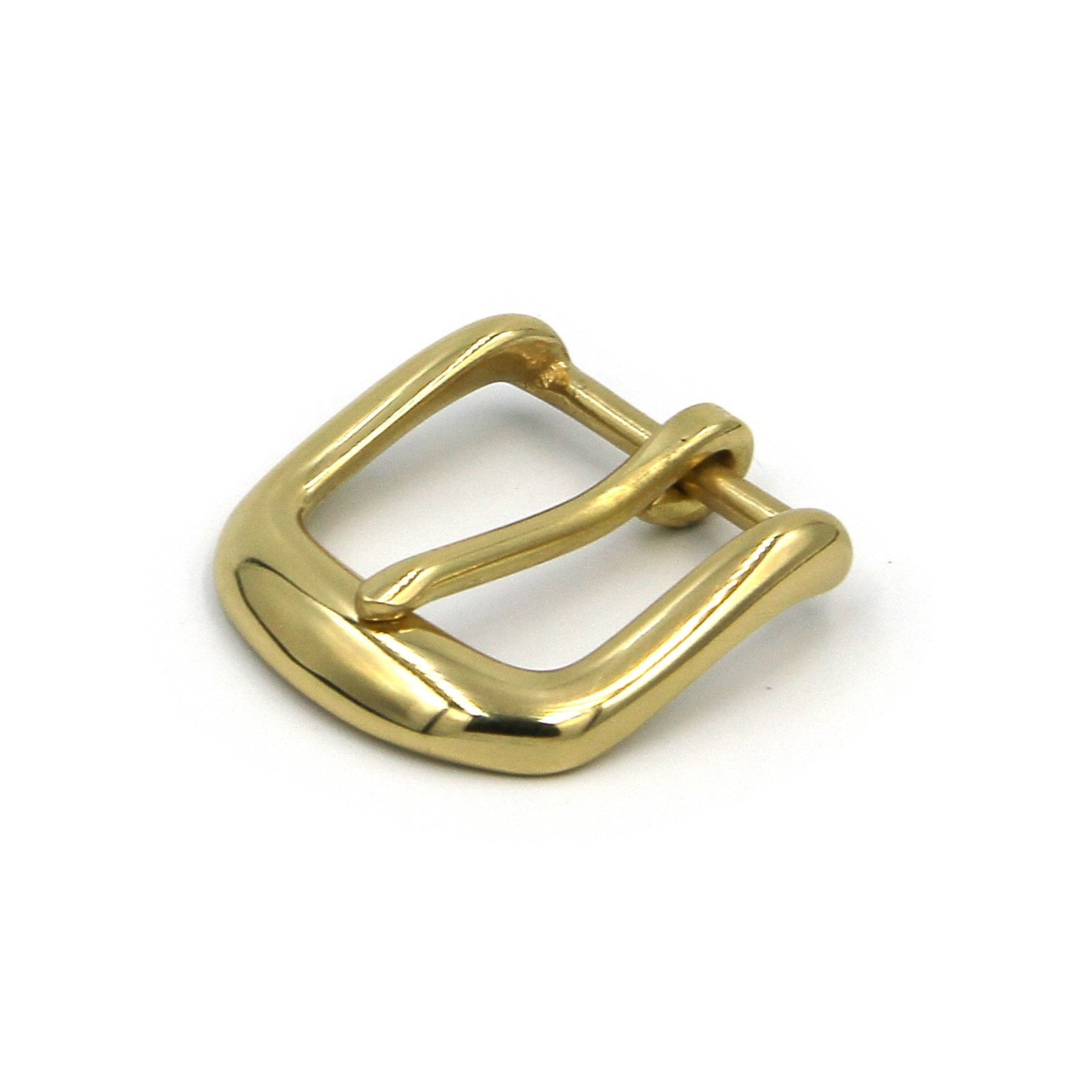 Glass Finish Brass Buckle Gold Color Women Fashion - Metal Field
