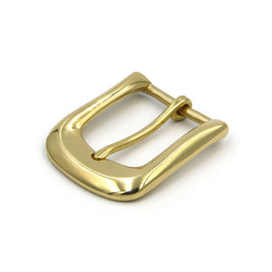 Glass Finish Shiny Gold Buckle,Solid Brass High Polishing 35mm - Metal Field