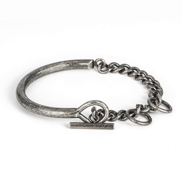 Mens Stylish Bracelets Titanium Unique Silver Unisex Best - Metal Field