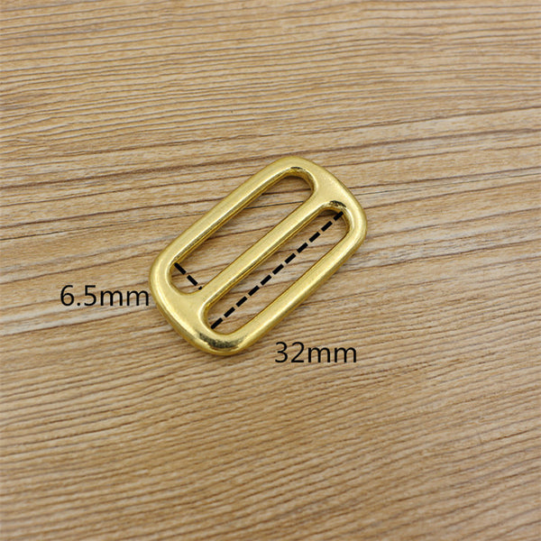 Strap Buckles Rectangular Rings Split Loop Slider Glide Buckle Belt Accessories - Metal Field
