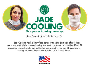 JadeCooling Neck Gaiter/Face Cover