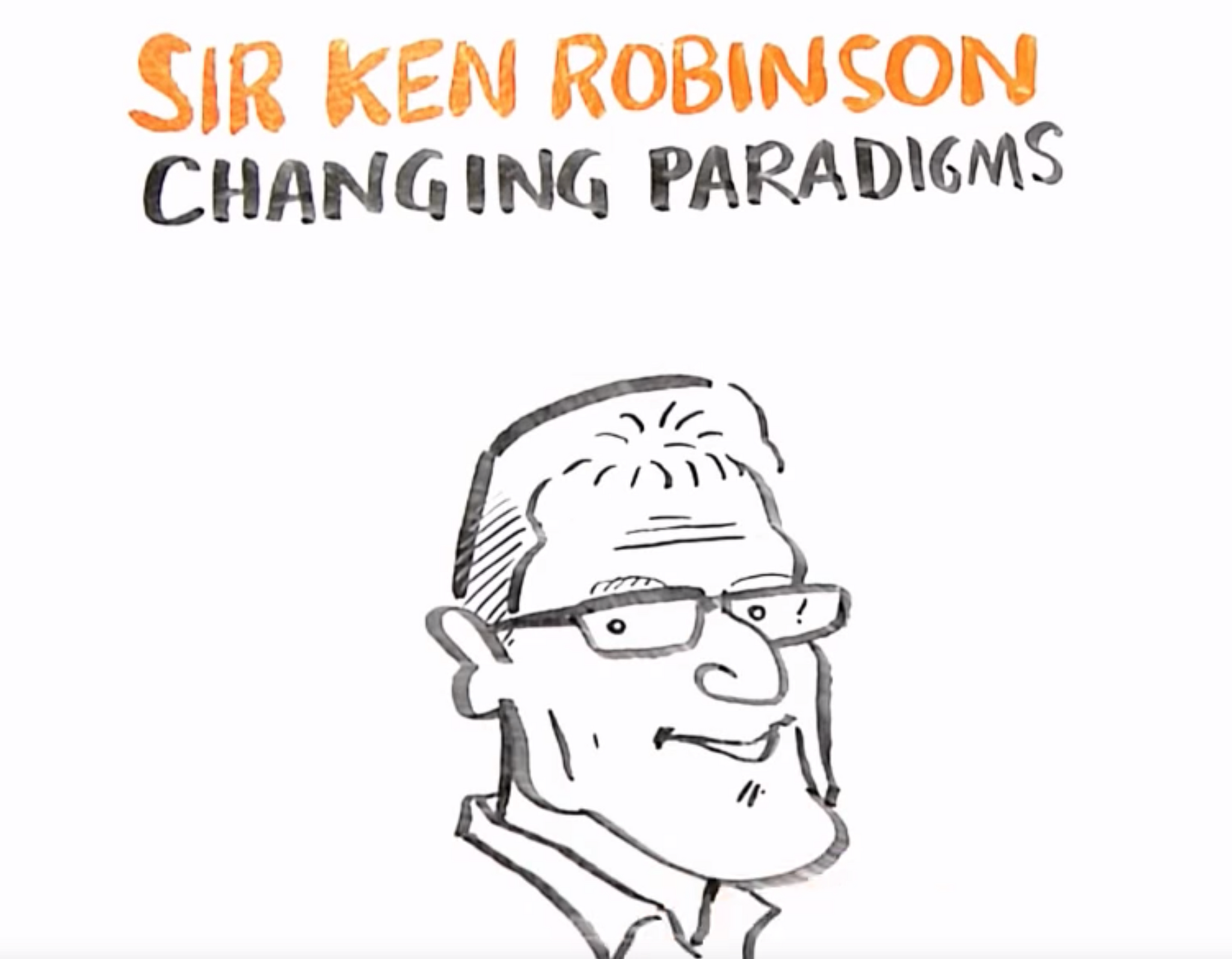 Yoto Talks TED: Sir Ken Robinson on how the 'system' of education teaches our kids to be less creative
