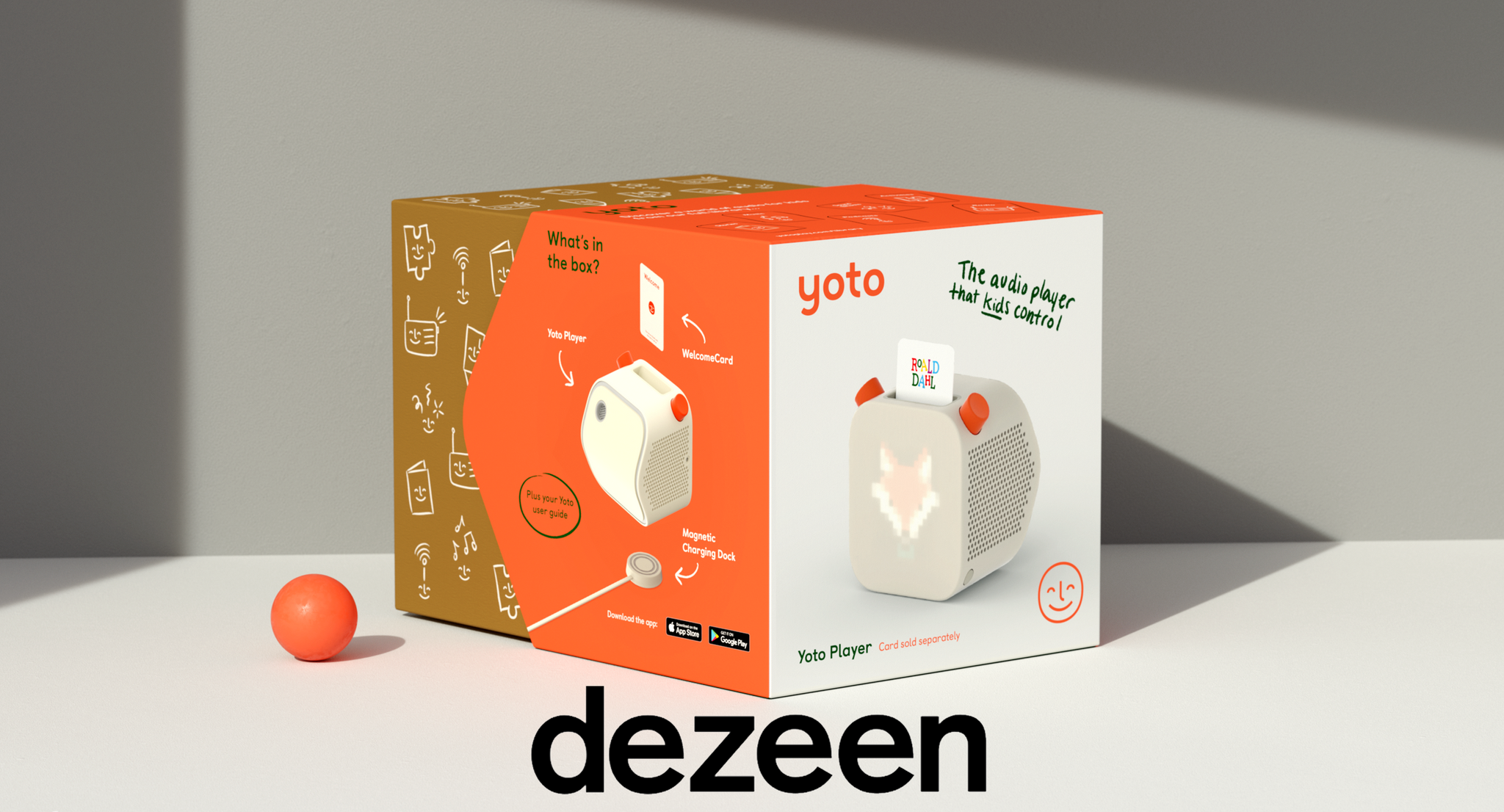 Pentagram and Yoto design screen-free audio player for children