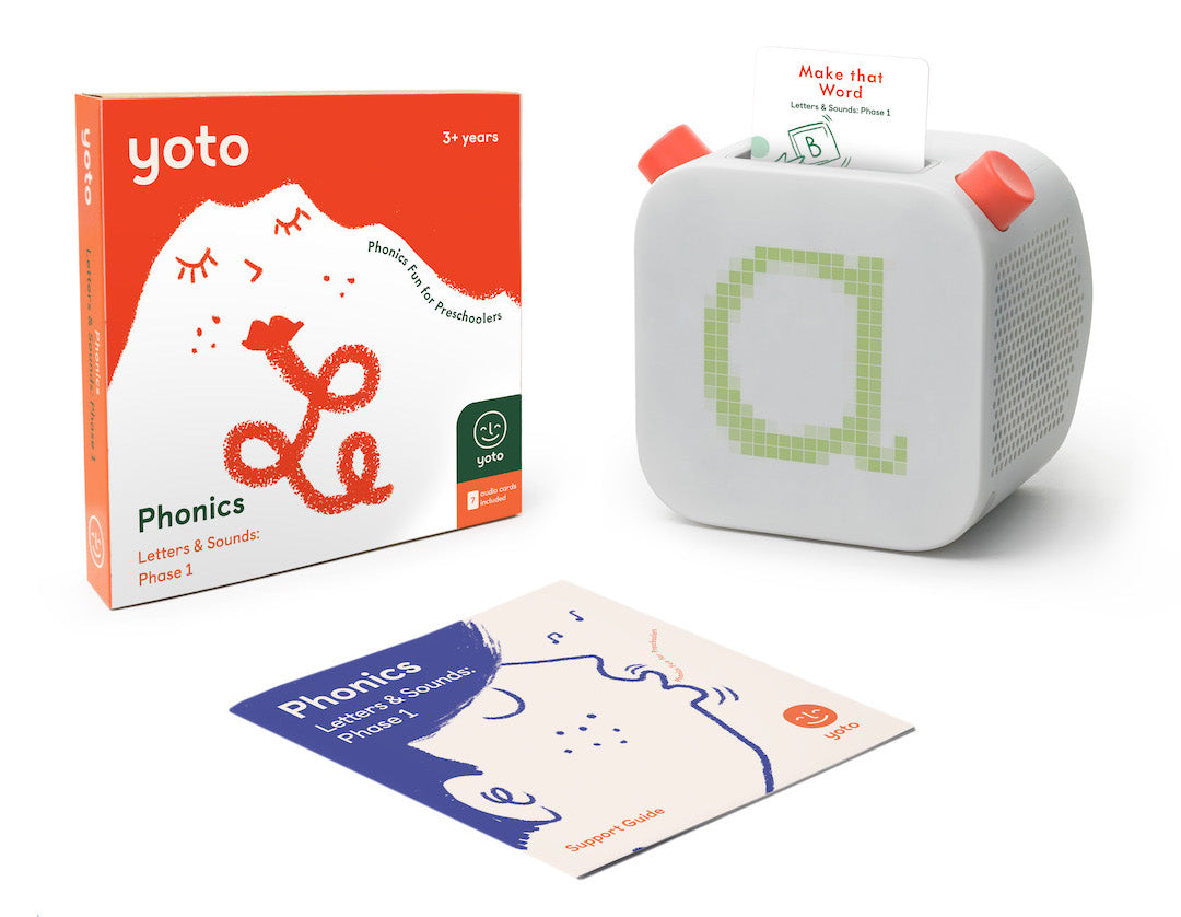 Teach your kids phonics with Yoto