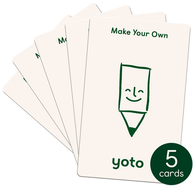 Make Your Own Cards (Pack of 5)