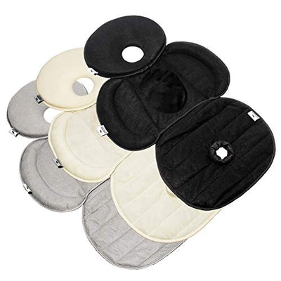 Car Seat Insert - Snuzzler with Piddle Pad - Ivory