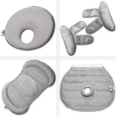 Car Seat Insert - Snuzzler with Piddle Pad - Grey