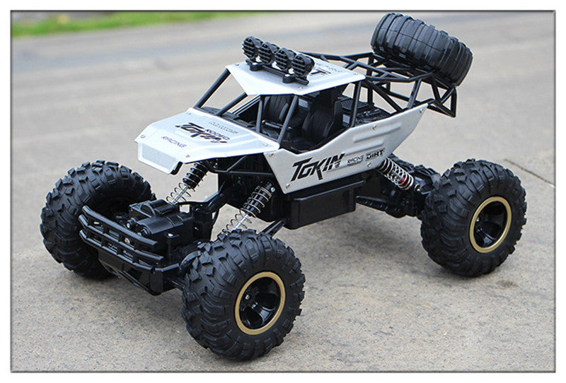 Large 4WD Remote Control Trucks 2.4G Off-Road Rock Crawler Climbing Cars, Best Christmas Gift for Kids and Adults
