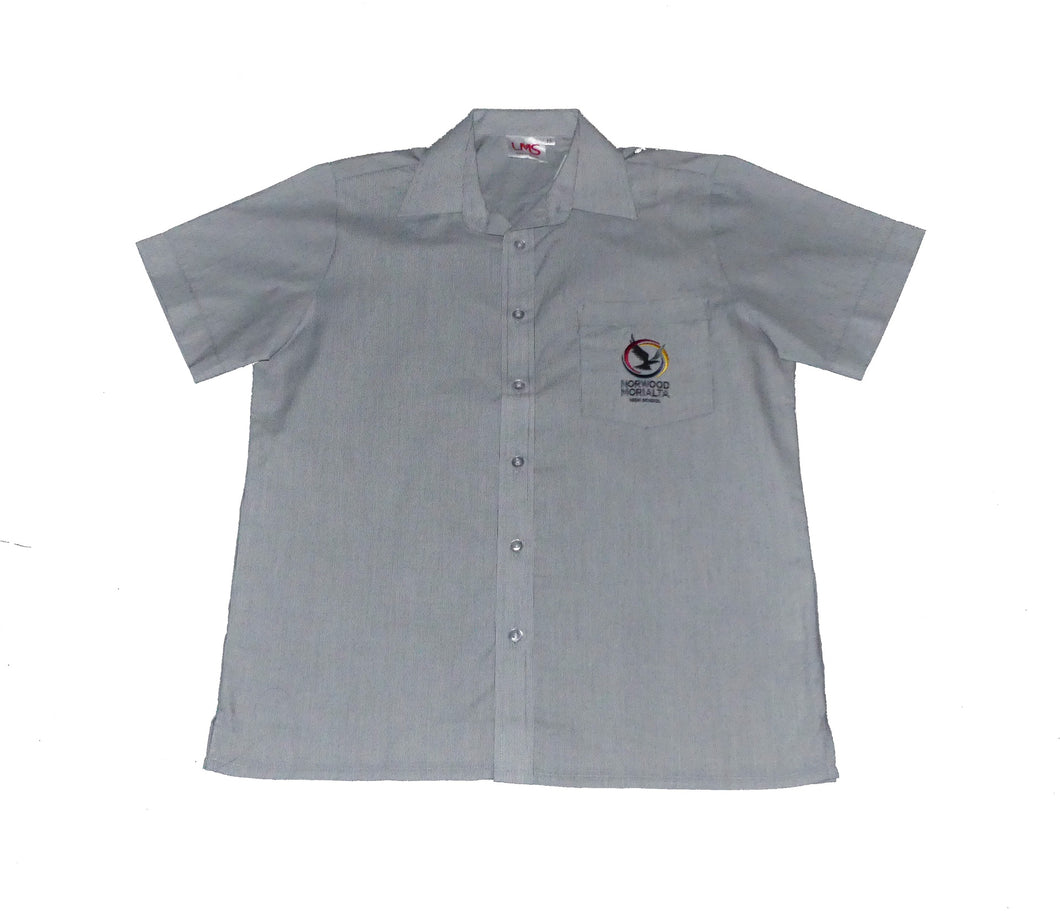 NMH Shirt S/S Pinstripe