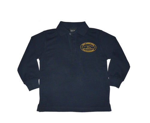 TGS Polo L/S Navy