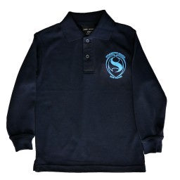 STD Polo L/S Navy