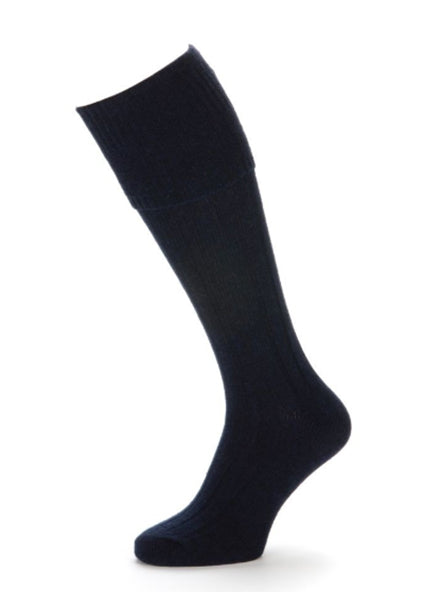 SJH Socks Knee High 2pk Navy