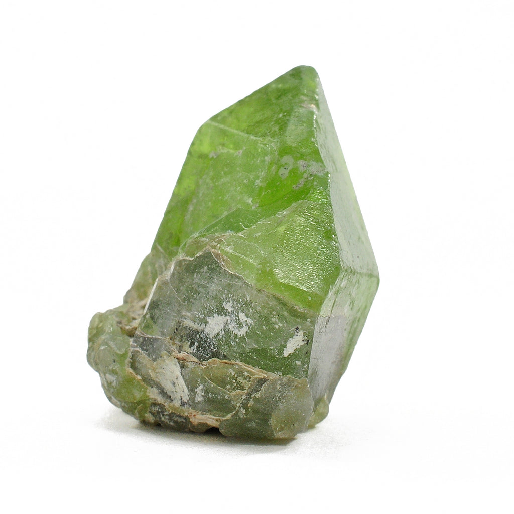 Peridot 24.69 mm 12.7 gr Natural Gem Crystal - Pakistan
